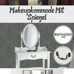 Make-upkommode Mit Spiegel