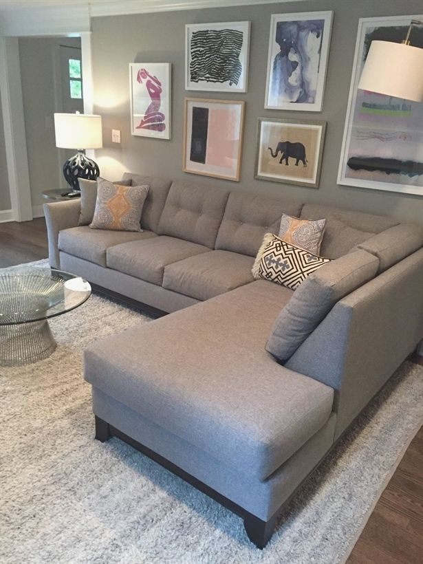 Marco 2pc Sectional Sofa :: Leg Finish: Pecan / Configuration: RAF – Chaise on the Right