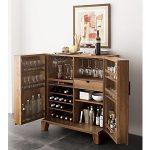 Marin Natural Bar Cabinet + Reviews | Crate and Barrel
