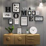 Massivholz Große Bilderrahmen Malerei Moderne Wohnzimmer Set Bilderrahmen