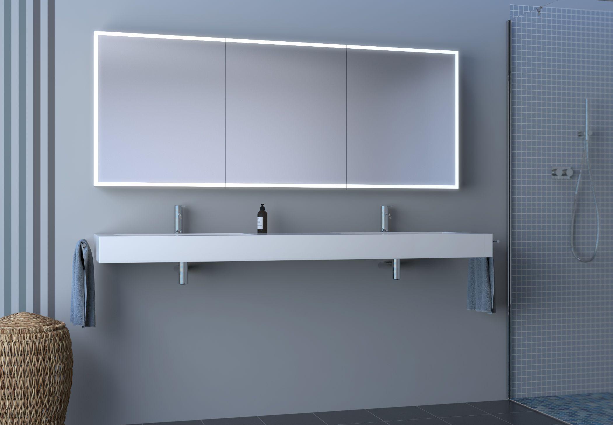 Mehr Gestaltungsfreiheit – Keller Spiegelschränke AG | Badezimmerspiegelschrän…