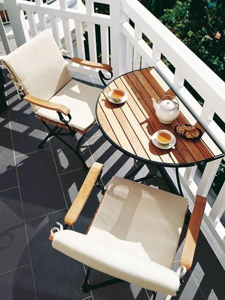 Mehr Platz auf dem Mini-Balkon – https://bingefashion.com/haus
