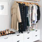 Mein Schlafzimmer und offener Kleiderschrank | Aus Kratzer gemacht , #gemacht #k… - hangiulkeninmali.com/decor