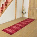 Mercury Row Angelique Looped/Hooked Red Hallway Runner Rug | Wayfair.co.uk