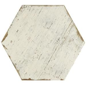 Merola Tile Retro Hex Blanc 14-1/8 in. x 16-1/4 in. Porcelain Floor and Wall Tile (11.05 sq. ft. / case)-FNURTXBL – The Home Depot