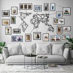 Metall Weltkarte schwarz Extra große Wandkunst zeigen Sie | Etsy