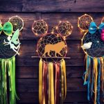 Mickey Mouse Dreamcatcher #disney #craft #disneycraft #diy #craft #disney