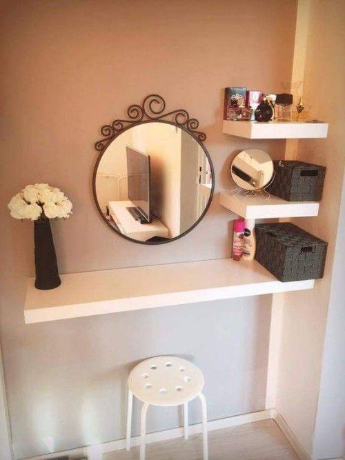 Mini sminkbord för din eleganta och lilla atmosfär – https://bingefashion.com/hem