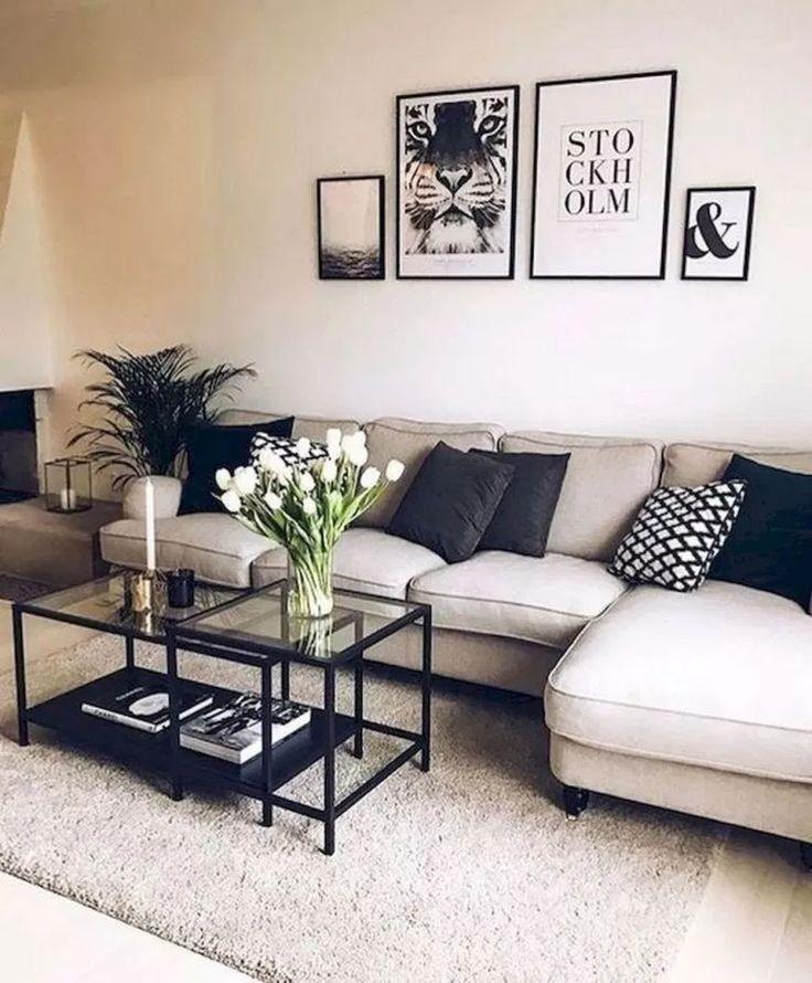 Minimalist Living Room Deco Ideas #livingroomi – House Goals Ideas