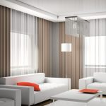 Modern Living Room Curtains Design : Ideas Covering With Modern - Home Interior Design Ideas