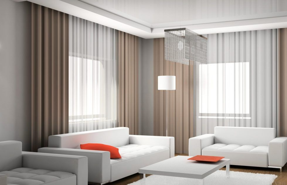 Modern Living Room Curtains Design : Ideas Covering With Modern – Home Interior Design Ideas