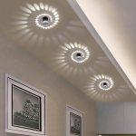 Modern Swirl LED Ceiling Light