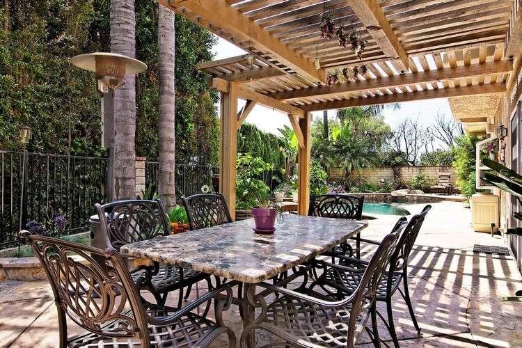 Moderne Terrassenüberdachung – 60 verschiedene Ideen