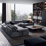 Moderne Wohnzimmer Dekoration Ideen - Farbe, Möbel und Leuchten - Neue Dekor