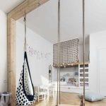 Modernes Kinderzimmer, in dem die Gestaltung des Bettes den Unterschied macht: 18 Ideen … | 🏠 Kinderzimmer Ideen - bingefashion.com/dekor