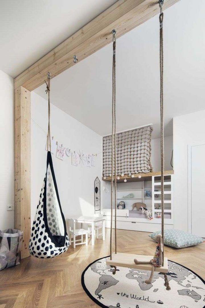 Modernes Kinderzimmer, in dem die Gestaltung des Bettes den Unterschied macht: 18 Ideen … | 🏠 Kinderzimmer Ideen – bingefashion.com/dekor