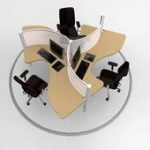Modular Office Furniture - Workstations, cubicles, systems, modern, contemporary...,  #Contem...