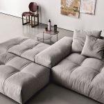 Modular fabric sofa PIXEL | Fabric sofa - Saba Italia - #fabric #Italia #modular...