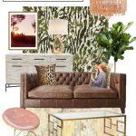 Moodboard: Masculine Glam Autumn Living Room  Würdige Ohnmacht#Wohnzimmer#wohnz...