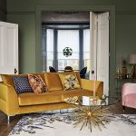 Mustard Yellow Sofa Living Room  Pinterest 100: our top 5 decorating trends to t...