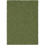 Myfelt Kaspar Handmade Sheepskin Dark Green Rug | Wayfair.co.uk