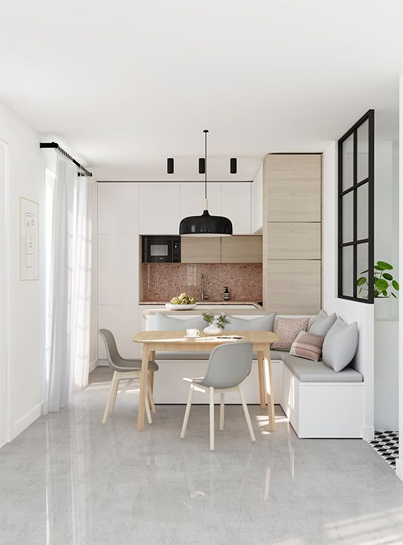 NEW IN PORTFOLIO: Small kitchen design (before&after)