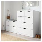 NORDLI 10-drawer chest - white - IKEA