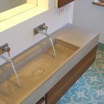 Neues Bad im Denkmal – Waschtische aus Beton, Betonmöbel – urbandesigners