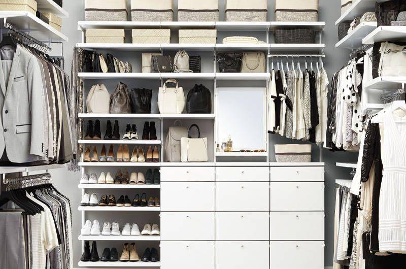New Container Store Custom Closets Make Your Closet A Showpiece