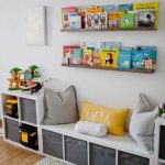 Newest Photo DIY Toy Storage Ideas  Style   An Ikea kids' space continues to f...