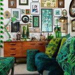 "Nicola Broughton-""The Girl with the Green Sofa""Blog HomeSally Worts Dark and Dramatic Home"