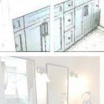 Niedlichen Badezimmer Dekor | Aqua Badzubehör-Sets | Badezimmerspiegel Set#desi...
