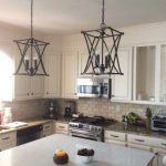 Nisbet 6 - Light Candle Style Square / Rectangle Chandelier