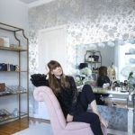 Office Envy: Parisian Style Brushed With Old Hollywood Glamour Linlee Elbert for...
