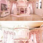 Online Shop Bedroom Princess  Girl Slide Children Bed , Lovely Single Pink Castle Bed Girls Furniture | Aliexpress Mobile