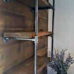 Open Kitchen Shelving, Urban Industrial floating shelves. Farmhouse Kitchen Shelving, Rustic Wall Shelves, Pipe Shelving, Floating Shelves