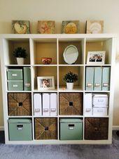Ordentlich Home Office Store | Weißes Ikea Expedit Bücherregal | Weiß und …,  #Bücherregal …