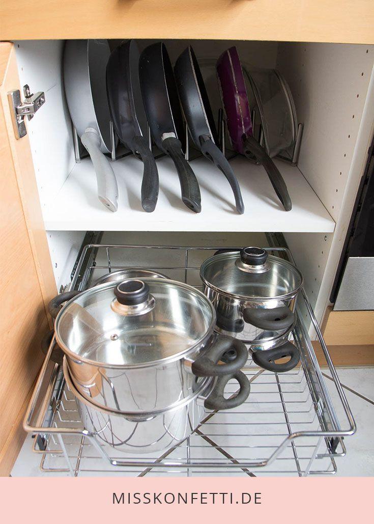 Ordnung in der Küche – Kochzubehör organisieren – #der #Kochzubehör #Küche #…