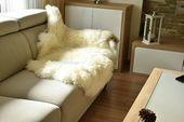 Original GIANT weiß echte natürliche Schaffell Teppiche Teppiche Teppich Outdoor Teppiche bil…