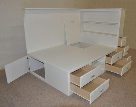 Orlando Platform Bed – Designed and built by Tanglewood Design