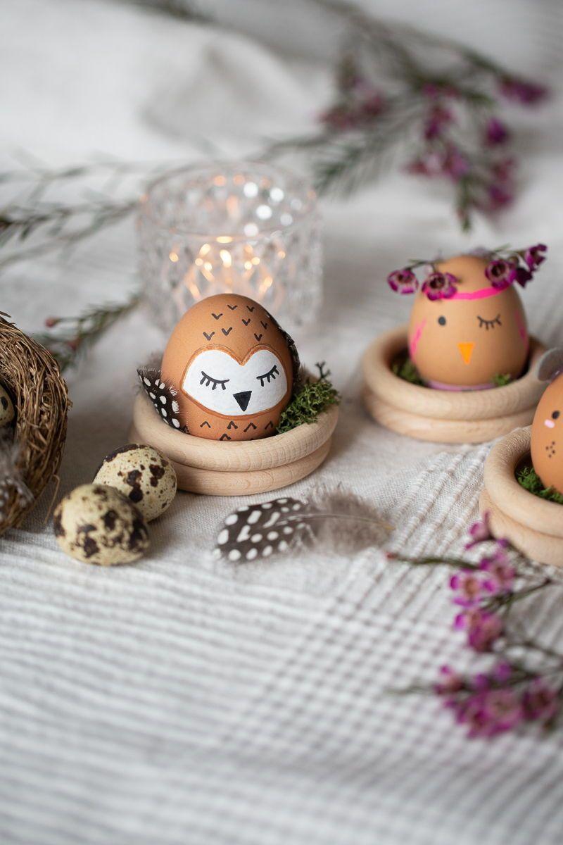 Ostereier als Tiere – tierische Ostern | DIY Blog | Do-it-yourself Anleitungen zum Selbermachen | Wiebkeliebt