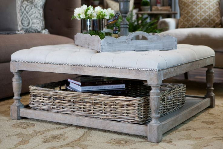 Ottoman Coffee Tables – DIY Decorator
