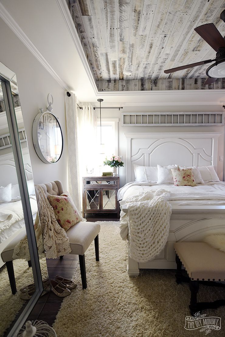 Our Modern French Country Master Bedroom – One Room Challenge Reveal | The DIY Mommy