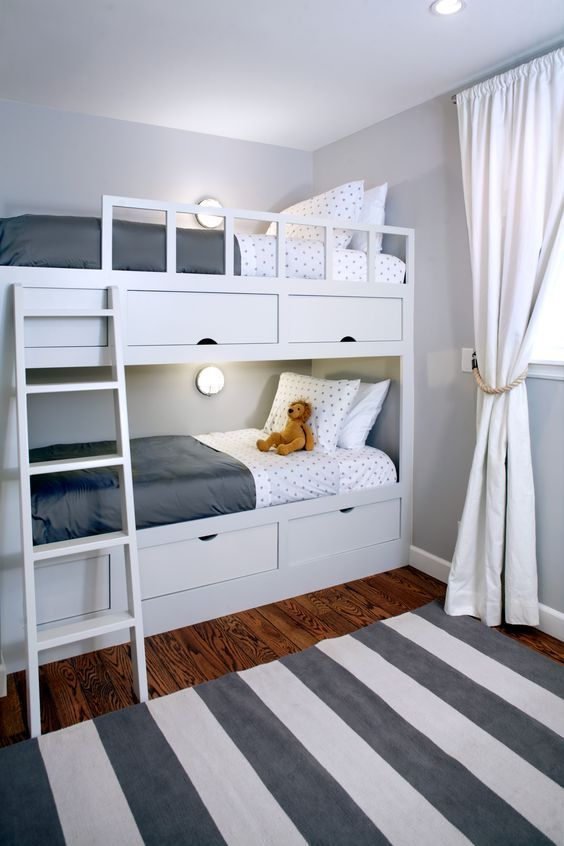 Over 40 space-saving bunk beds for small spaces that you need to copy in 2019 …