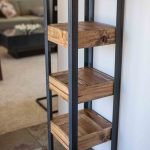 Pallet Wood Bookshelf