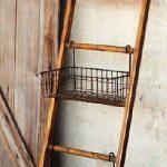 Park Hill Collection #Ladder med #WireBaskets - https://pickndecor.com/hem