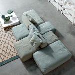 Peanut B Modular Sofa Design by Mauro Lipparini