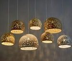 Pendelleuchten. 7 Schattierungen Kronleuchter. Keramik-Lampen. Hängende Lichter...