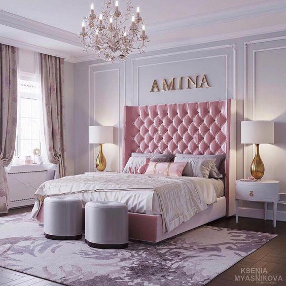 Pink girl bedroom ideas