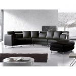 Pittenger Symmetrical Leather Modular Sectional
